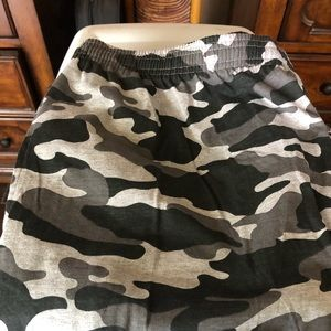 King Size Men's Elastic Military Long pants